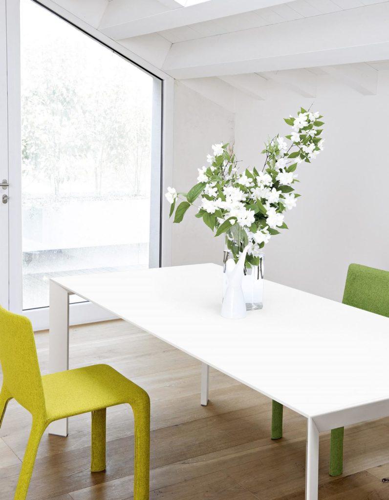 Kristalia - Tisch weiß