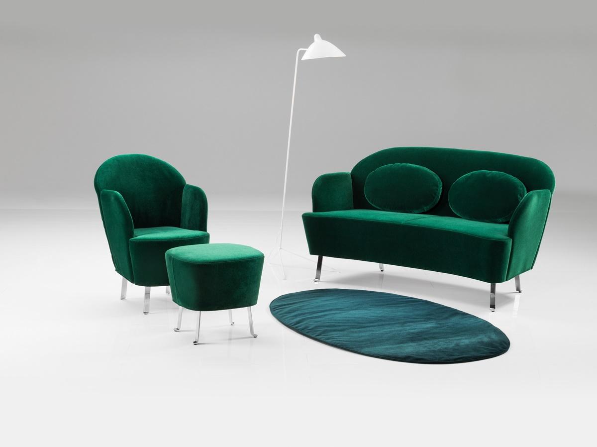 Brühl Polsterganitur smaragd-grün