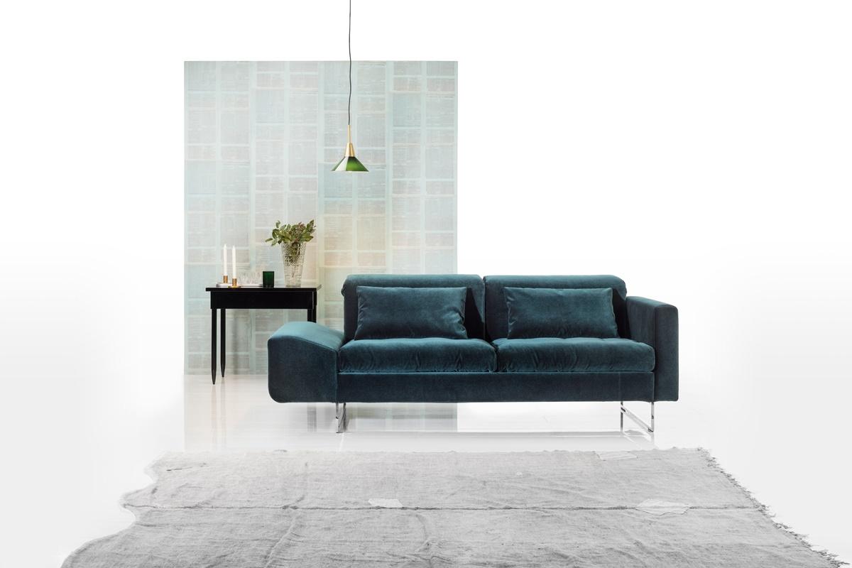 Brühl türkise Couch