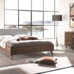 Hasena Bett - Schlafzimmer Massivholz dunkel