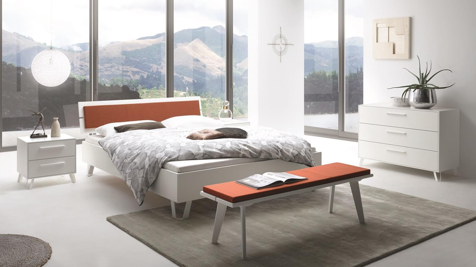 Hasena-Modernes Schlafzimmer weiß