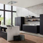 Küche Häcker-Eiche Schwarz