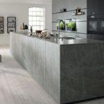Küche - next 125 silbergrau
