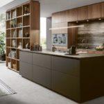 Küche - next125 braun - Holz