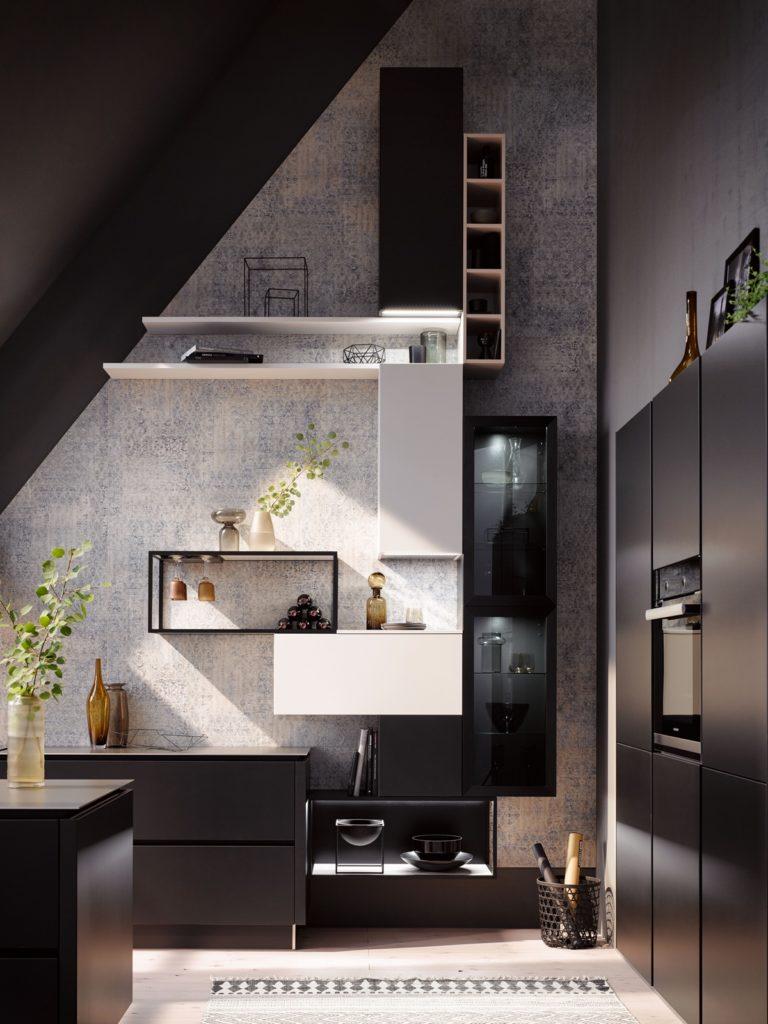 Küche - Geeignet für Dachschrägen