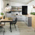 Küchen Haecker_-Hausausstellung_2018_Koje02_Laser-Brilliant-Perlgrau
