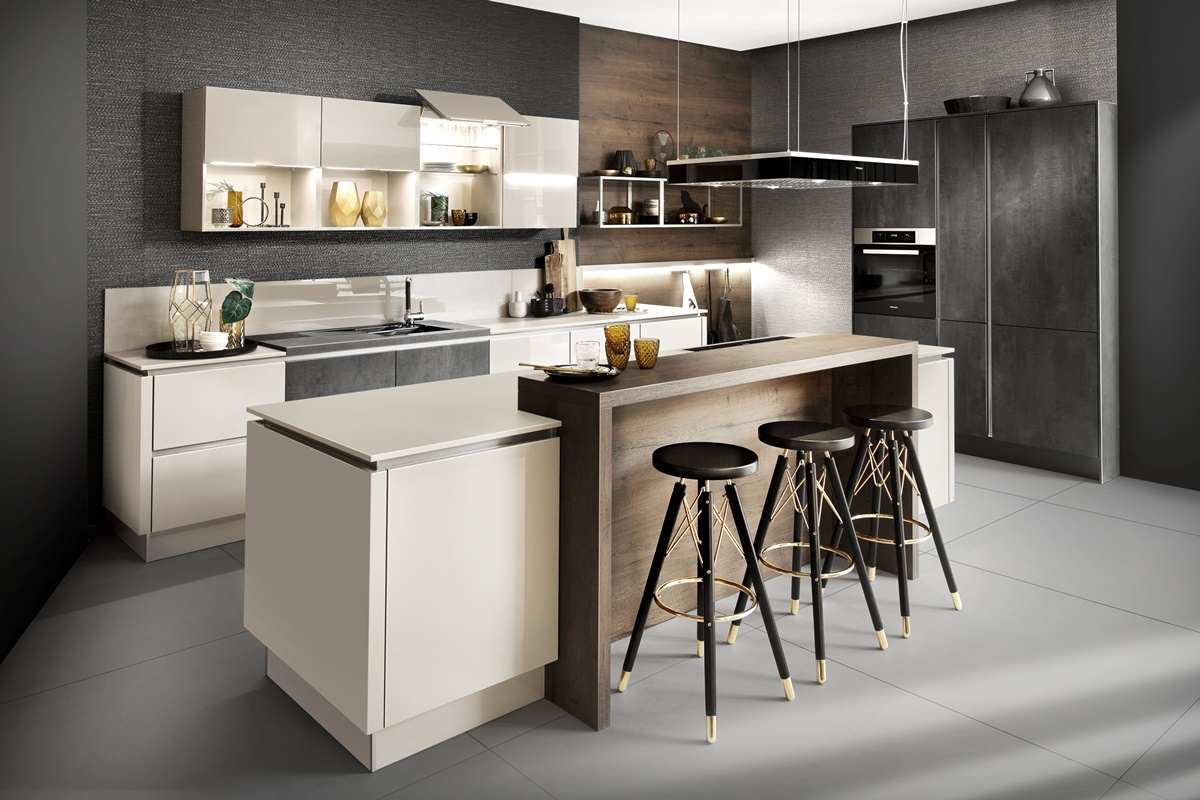 Küchen Haecker_Hausausstellung_2018_Kaschmir-Graphit