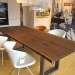 Möbel Weimer Hausausstellung - Esstisch mit Stühlen