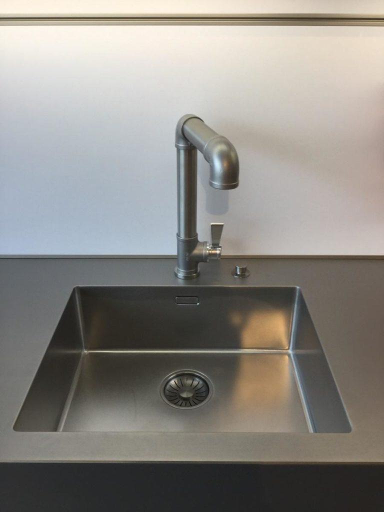 Möbel Weimer Hausausstellung - Spüle - Grau