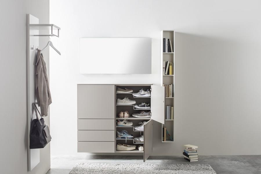 Sudbrock Garderobe - Schuhschrank