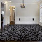 Teppich Braun Collection schwarz-grau