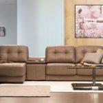 Couch Glastisch in der Höhe verstellbar zwei Ebenen