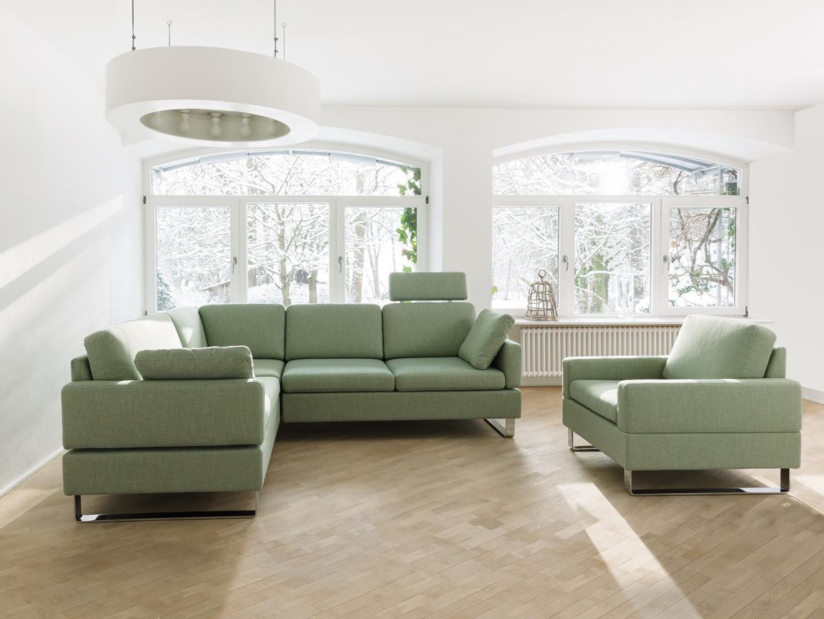 Wohnen-Brühl-Polstergarnitur-Stoffbezug-grün